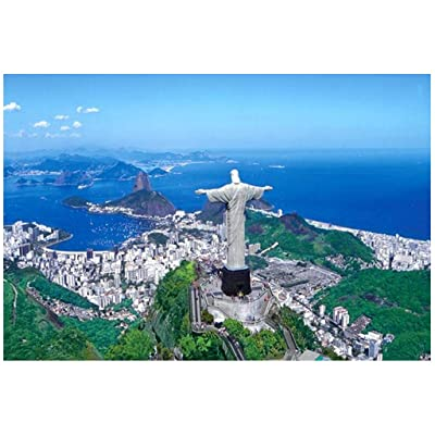 World Famous Landscape Jigsaw Puzzles 1000 Pieces for Adults Kids, Large Puzzle Game Toys Gift (C): Toys & Games