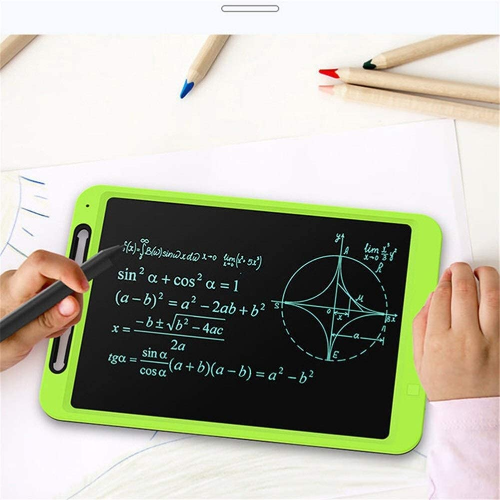 """RTOFE 12"""" -LCD-Writing Tablet Digitale Zeichnung Tablet Handschrift Pads elektronisches Tablet Brett (Color : Colors Green) Colors Green"""