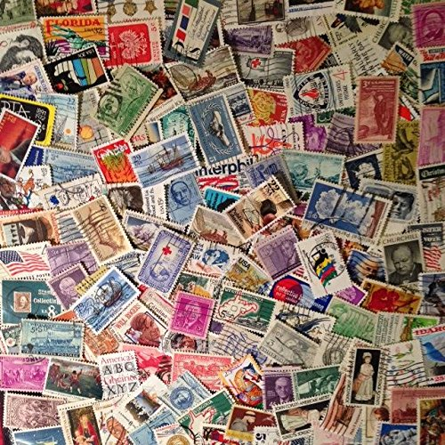 Lot of 100 Used US United States Postage Stamps