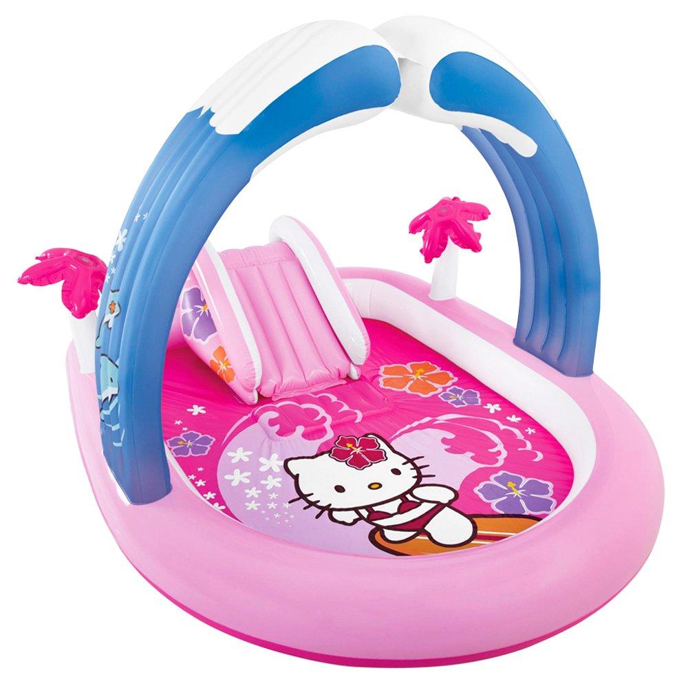 Intex Hello Kitty Planschbecken mit Rutsche