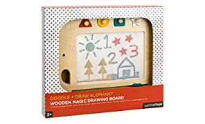 Petit Collage Wooden Elephant Magnetic Magic Drawing Board