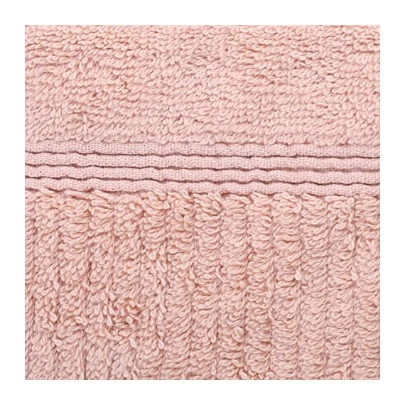 Jonny&Lora Advanced Anti-Fade Household Bath Towels Cotton 600 GSM Brown(28x55,inch) - Size:28*55,inch,Bath Towel Weight:588g Woven with 100% ring spun cotton, soft and comfortable, high tearing fastness and absorbent,Vertical line pattern design, Five-star hotel quality, unique style for you Machine washable, tumble dry on low. For best results, wash separately on first use to minimize lint. - bathroom-linens, bathroom, bath-towels - 617oUbPGzDL. SS570  -