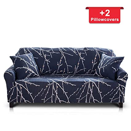 Amazon.com: Hipinger Spandex Fabric Stretch Couch Cover Sofa ...