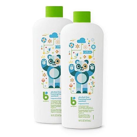 Buy Babyganics Alcohol Free Foaming Hand Sanitizer Refill