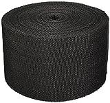 Heatshield Products 326100 Black 6'' Wide x 100' Exhaust Wrap Roll