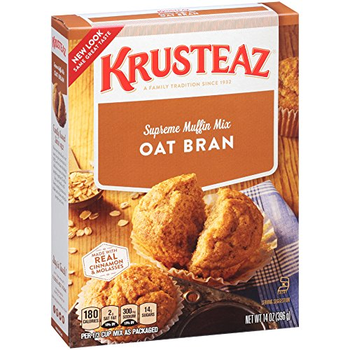 Bran Muffin (Krusteaz Oat Bran Supreme Muffin Mix, 14-Ounce Boxes (Pack of 12))