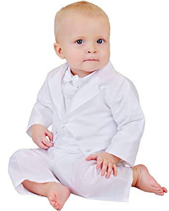 201733c7f Amazon.com: Ryker 6 Month Christening Baptism Outfits for Boys. Made ...
