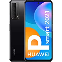 "Huawei P smart 2021 16.9 cm (6.67"") 4 GB 128 GB Dual SIM 4G USB Type-C Black Android 10.0 Huawei Mobile Services (HMS…"