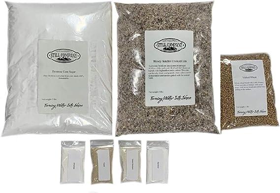 Bloody Butcher Cracked Corn & Malted Wheat Whiskey Mash & Fermentation Kit by North Georgia Still Company