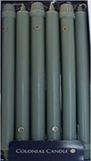 product image for Colonial Candle - Colonial Green 8 Inch Classics-2 per case