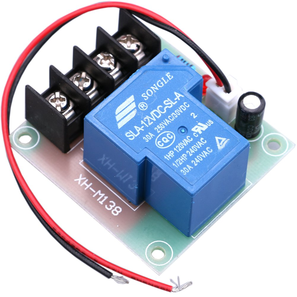 Dpdt 12vdc 30a General Purpose Power Relay Circuit Diagram Yeeco High Current 12v Contactor Switch Dc Switching Control Board Module Electrical Switches For