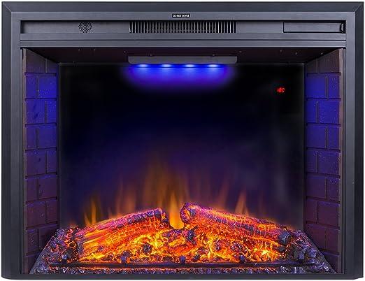 Amazon Com Flameline 33 Roluxy Electric Fireplace Insert With