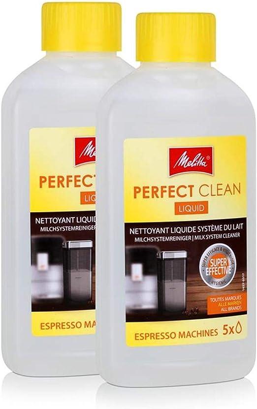 2 x Melitta 202034 perfecto limpio cafeteras Sistema limpiador 250 ...