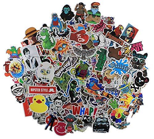 (Stickers 200 pcs / Pack , Coolest Funny Vinyl Decals Sticker Bomb for Water Bottles Kids Laptop Motorcycle Skateboard Snowboard Car - Cool Fun Cute Aesthetic Waterproof Sticker)