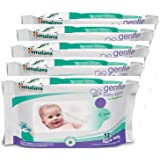 Himalaya Baby Care Gentle Baby Wipes, 72 Count (Buy 4 Get 1 Free)