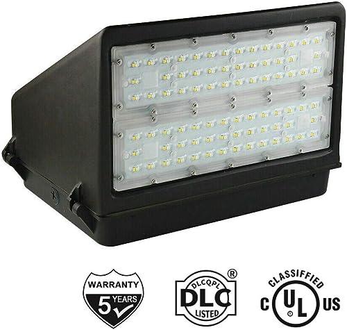 100 Watt LED Wall Pack Light with Full Cut-Off 14000LM 5000K – Replaces 400 watt Metal halide HPS, Outdoor Area Full Cutoff Wall Pack led Light Fixture IP65, UL, DLC