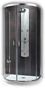 Premium Plus Mampara redondo ducha cuarto circular (cabina de ...
