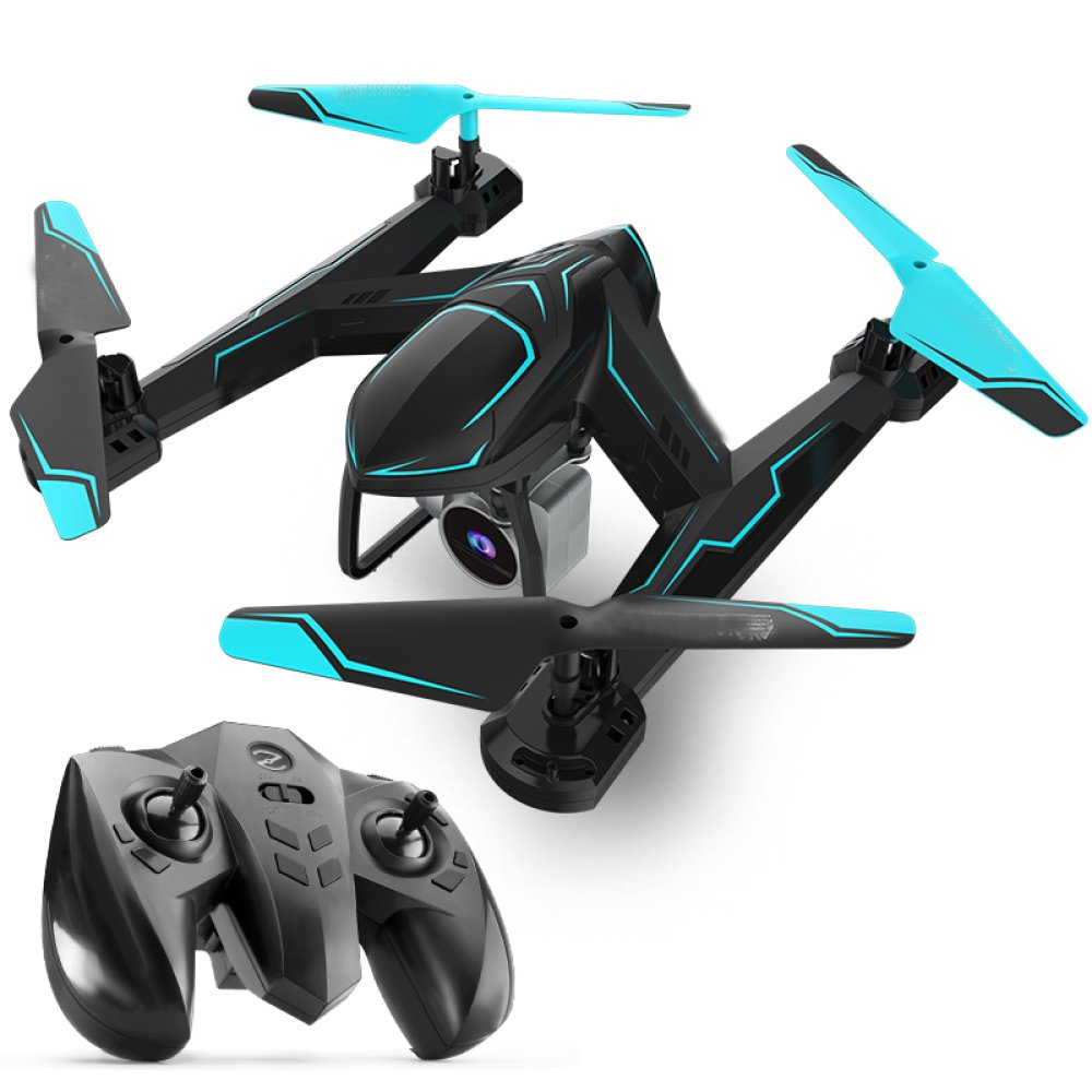 ZCXCC Drohne Drohne RC Quadcopter Höhe Halten Kopflose RTF 3D 360 Grad Flips Rolls 4-Achsen-Gyro 2 4 GHz Fernbedienung Hubschrauber Höhe Halten Steady Super Easy Fly Für Training