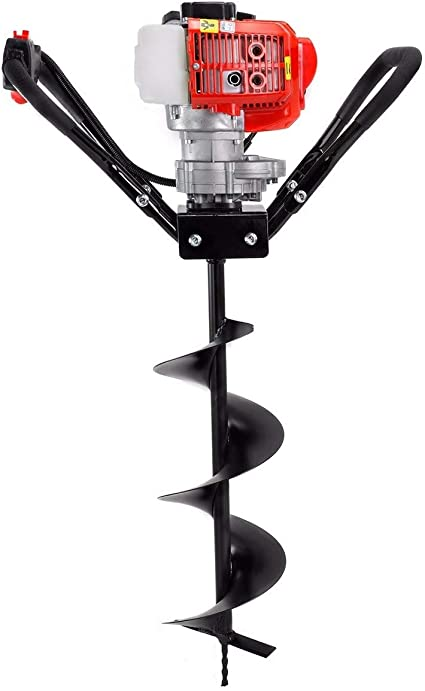 72cc Earth Auger 3HP Gas Powered One Man Post Hole Digger Machine