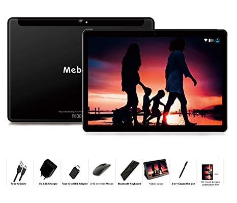 MEBERRY Tablet 10 Pulgadas Android 9 Pie Ultrar-Rápido Tablets 4GB ...