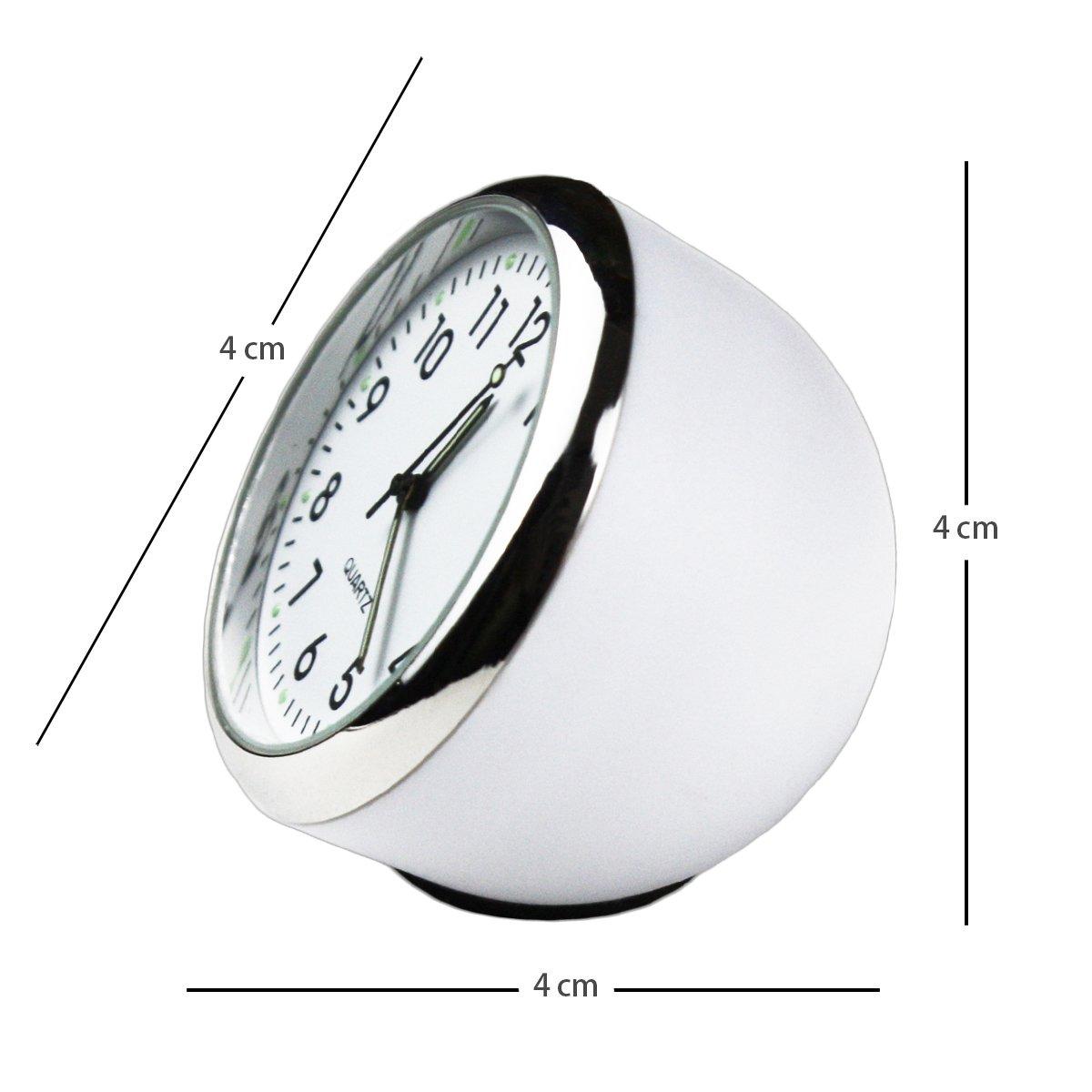 Txian Custom High Accuracy Car Clock Small Round Onboard Quartz Clock Perfect Car Decoration