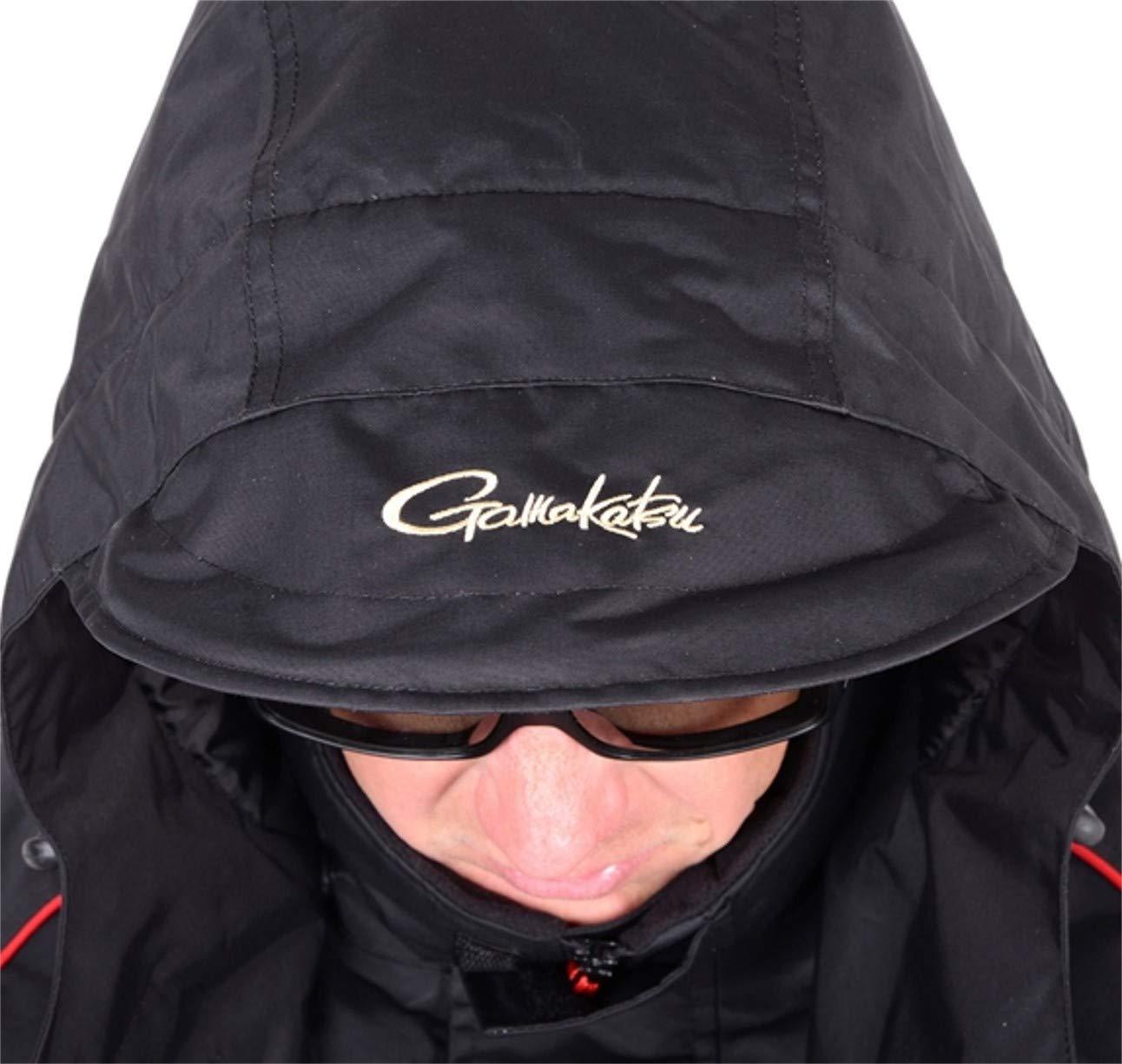 L GAMAKATSU POWER THERMAL SUITS Thermoanzug Schwarz Gr