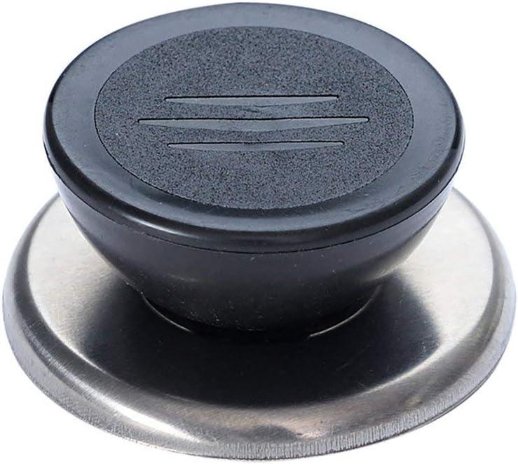 xinhuiqiong Pot Pan Lid Cover Circular Holding Knob Screw Handle