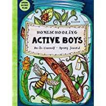 Amazon sarah janisse brown books homeschooling active boys do it yourself spring journal 3 month curriculum solutioingenieria Image collections