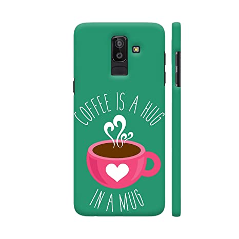 pretty nice f0e43 8997e Colorpur Coffee is A Hug in A Mug Printed Back Case: Amazon.in ...