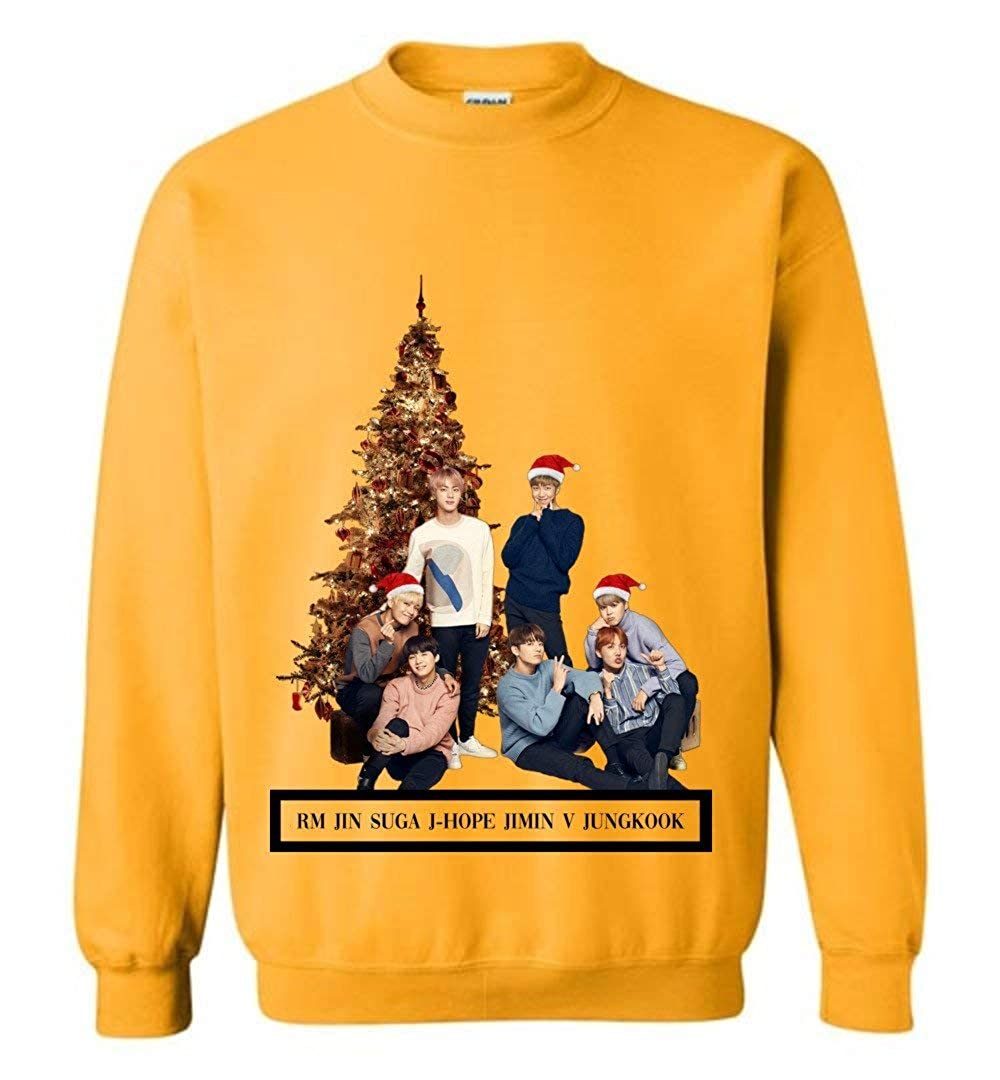 Amazon com: The Incredible BTS Names BTS Christmas Sweater