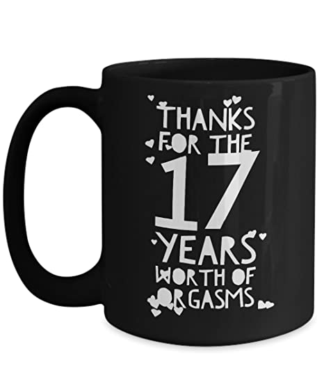 amazon com 17th wedding anniversary gifts for him thanks for all