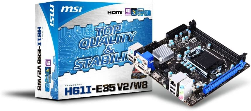 Components & Replacement Parts Computers & Accessories MSI H61I ...
