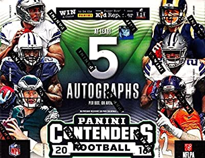 2016 Panini Contenders NFL Football HOBBY box