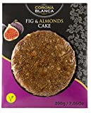 Corona Blanca Fig and Almonds Bread Cake ( Pack of 15 ) 7.05 oz ( 200 gr )