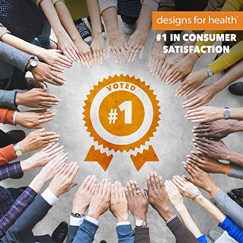 Designs for Health - Betaine HCl with Pepsin - 750mg Betaine Hydrochloride + Protein Digestive Enzyme, 120 Capsules by designs for health (Image #6)