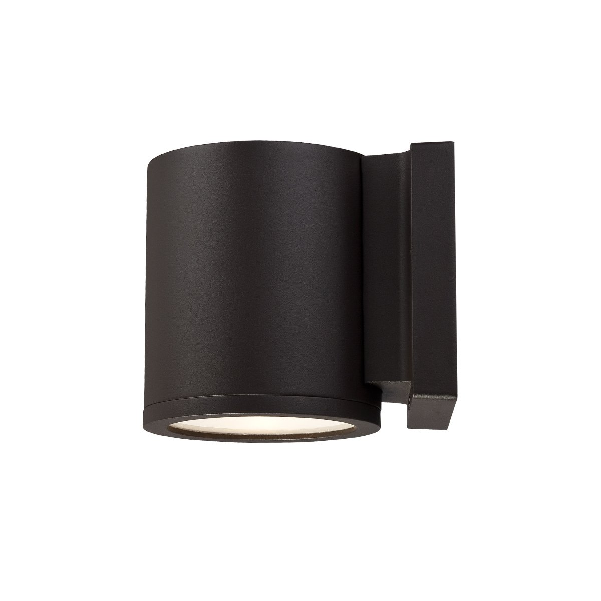 WAC Lighting WS-W2605-BZ Tube LED Outdoor Wall Light Fixture, One Size, White/Bronze