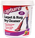 Capture Carpet Dry Cleaner Powder 2.5 Pound - Resolve Allergens Stain Smell Moisture from Rug Furniture Clothes and Fabric, Mold Pet Stains Odor Smoke and Allergies Too