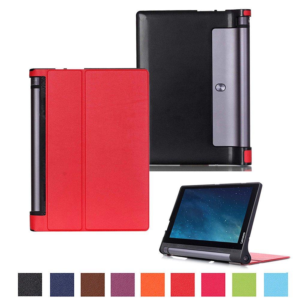 Funda Para Lenovo Yoga Tab 3 10.1 X50l X50f - Roja
