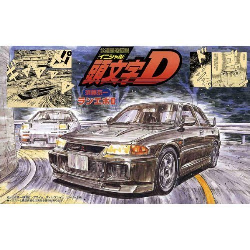 Initial D: Lancer Evolution III Plastic Model Kit by Fujimi