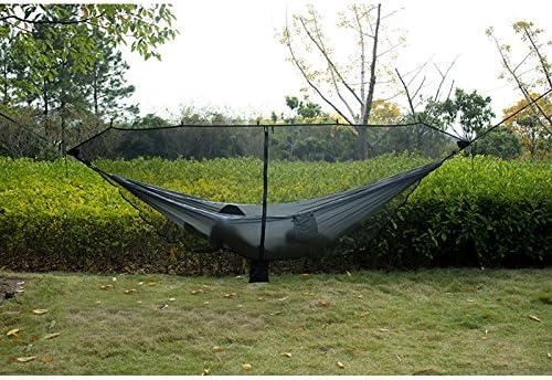 Enjoyall H/ängematte Moskitonetz Outdoor-Moskitonetz Parachute H/ängematte M/ücke Ultra Light f/ür Outdoor Camping Trip