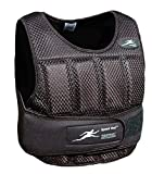 NEW Ironwear Speed Vest Black Breathable Mesh, soft Flex-Metal weights, Super Thin, Professional Athlete Weighted Vest, Made in USA adjustable 1 -11 lbs. supplied at 11 lbs. (SV10B)