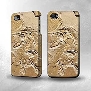 Apple iPhone 4 / 4S Case - The Best 3D Full Wrap iPhone Case - Dinosaur Fossil