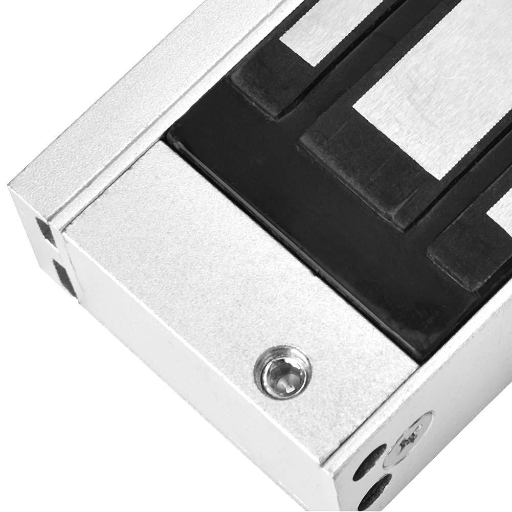 24V 1200 kg Cerradura electrom/ágnetica Pernos Muertos Integrados de la Cerradura magn/ética de la Sola Puerta Cerradura el/éctrica DC12V