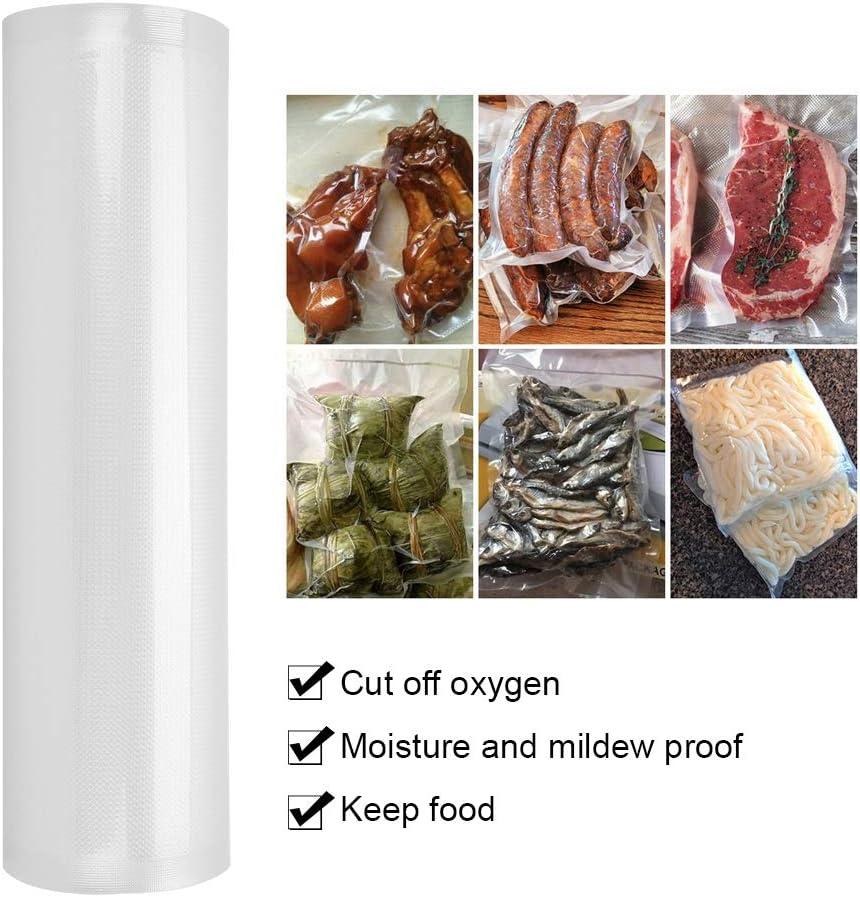 1 Roll Food Bag, Food Sealing Bag, für Lebensmittel für zu Hause(25 * 500cm thickened thick dots) 35*500cm Thickened Thick Dots