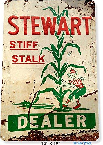 Tin Store Feed Sign (TIN SIGN 12