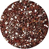 Glitter My World! Jumbo Flake Craft Glitter: 1 lb Jar A Rose Gold