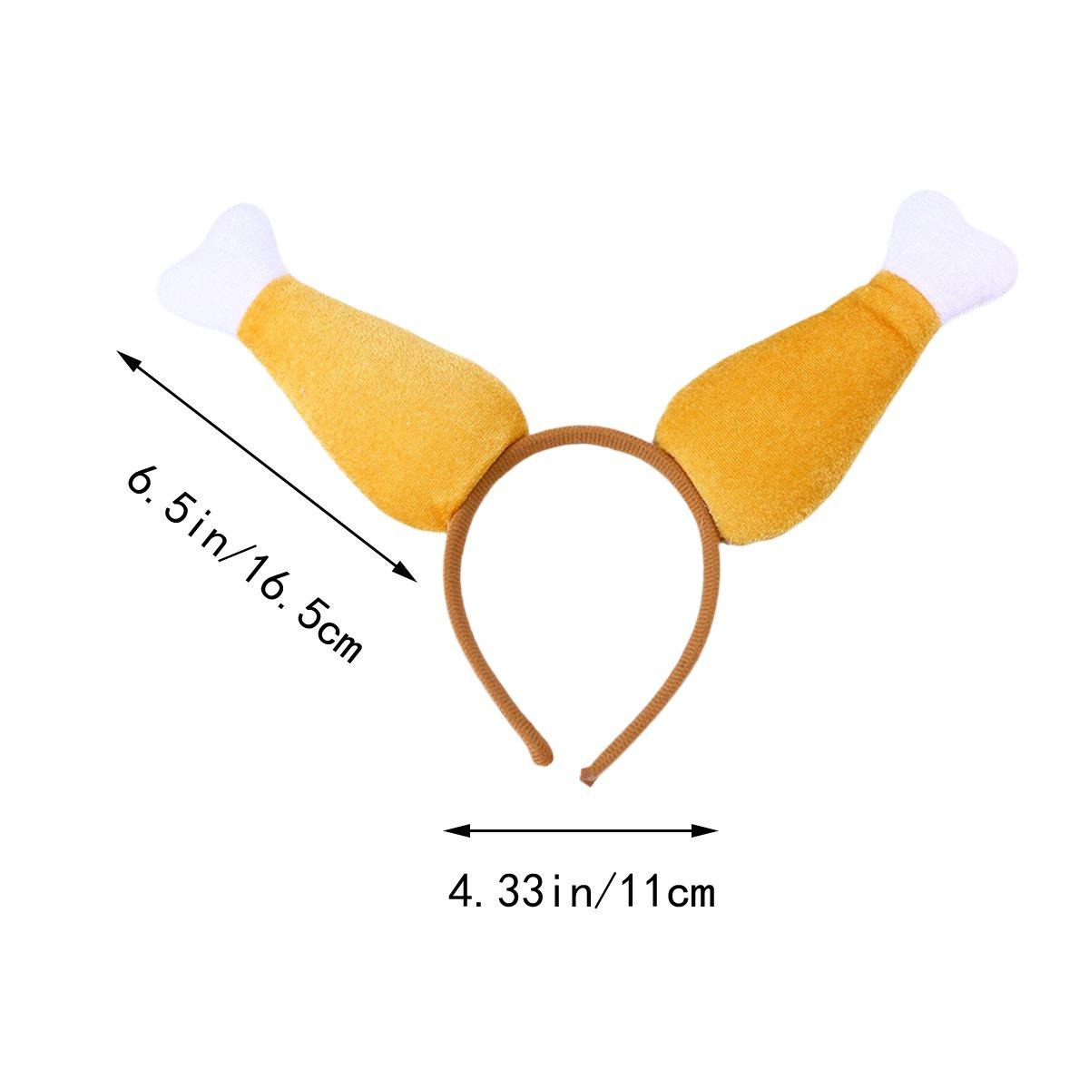 Buy Amosfun Turkey Leg Headband Thanksgiving Day Ornaments Adult
