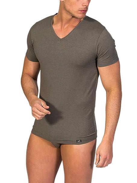 Defects Y HombreManga Interior Cuello Corta Picozero Camiseta HD9W2IE