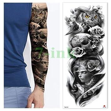 Tatuaje impermeable apliques reloj brazo cruzado cuerpo completo ...