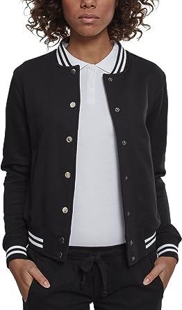 Urban Classic Ladies College Sweat Jacket Chaqueta Deportiva ...